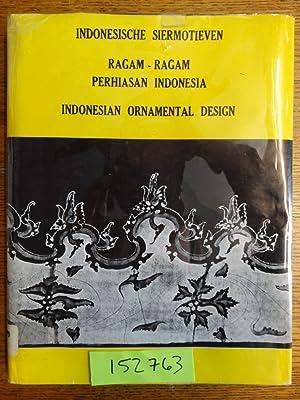 Indonesische Siermotieven. Ragam-ragam Perhiasan Indonesia. Indonesian Ornamental: Hoop, A.N.J. Th.a