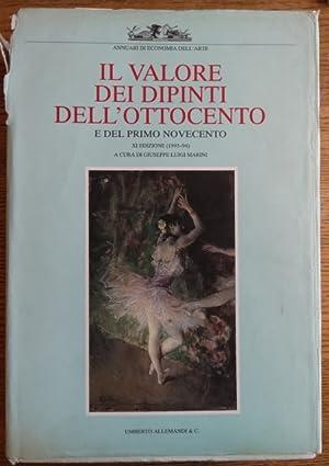 Il Valore dei Dipinti Italiani dell'Ottocento e: Marini, Giuseppe Luigi