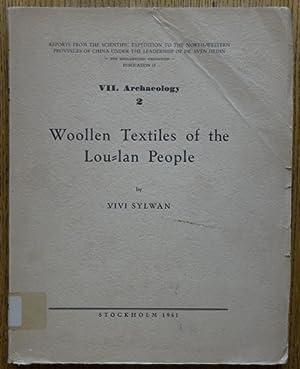 Woollen Textiles of the Lou-Lan People (Reports: Sylwan, Vivi