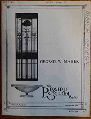 The Prairie School Review, Volume 1, Number: Hasbrouck, W.R. (editor)