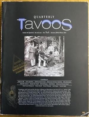 Tavoos (Quarterly of Iranian Art, Second Year,: Mir-'Emadi, Manijeh (Nasseri)