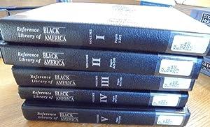 Reference Library of Black America (5-volume set): Smith, Jessie Carney and Joseph M. Palmisano (...