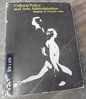 Cultural Policy and Arts Administration
