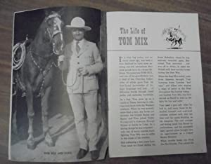 0e5774fa71661 The Official Tom Mix Straight Shooters Album  Ralson-Purina