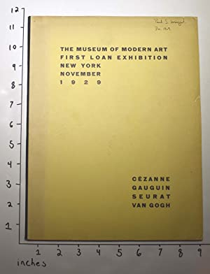 The Museum of Modern Art first loan: Barr, Alfred H.,