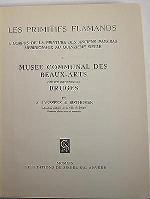 Les Primitifs Flamands: Musee Communal des Beaux-Arts: Janssens de Bisthoven,
