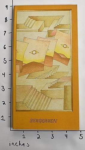 Maitres-Graveurs Contemporains 1978 [Original Cover Lithograph By