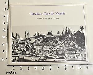 Baroness Hyde de Neuville: Sketches of America,: Da Costa Nunes,