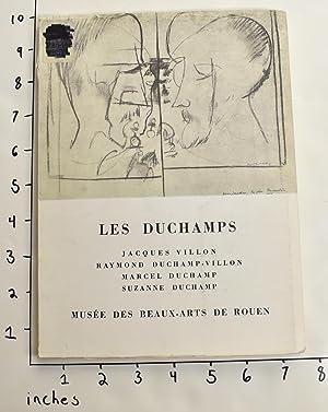 Les Duchamps: Jacques Villon, Raymond Duchamp-Villon, Marcel: Popovitch, O.