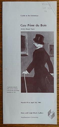 Guy Pène du Bois: Artist About Town: Cummings, Kathleen Roy