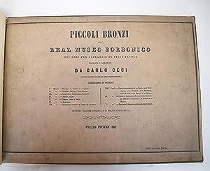 Piccoli bronzi del Real Museo Borbonico, distinti per categorie in dieci tavole: Ceci, Carlo