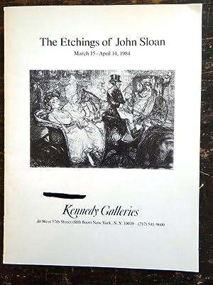 The Etchings of John Sloan: Greenberg, Jonathan