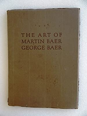 The Art of Martin Baer, George Baer: NY: Newhouse Galleries,