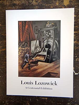Louis Lozowick: A Centennial Exhibition of Paintings, Drawings and Prints: Marquardt, Virginia