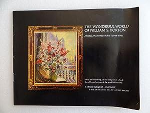 The Wonderful World of William S. Horton,