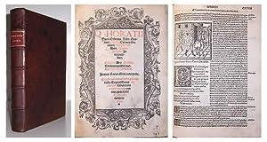 Q. Horatii Flacci Odarum libri quator: epodi Carmen saeculare Porphyrio: anto. Manci. Ascensio ...