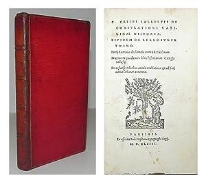 C. Crispi Sallustii de coniuratione catilinae historia. Eiusdem de bello iugurthino [etc.]: ...