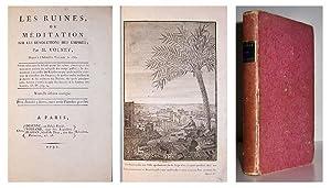 Les Ruines, ou meditation sur les revolutions des Empires. Nouvelle edition corrigee.: VOLNEY, ...