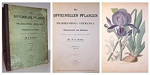 Die Officinellen Pflanzen der Pharmacopoea Germanica für Pharmaceuten und Mediciner besprochen...