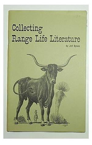 Collecting range life literature.: DYKES, Jeff