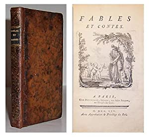 Fables et contes.: GELLERT, Christian Furchtegott; GAY, John, (Trans. by Claude-Francois-Felix ...