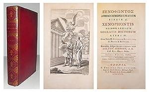 Xenophontis memorabilium Socratis dictorum libri IV. Cum notis H. Stephani, Leunclavii, A.E. Porti ...