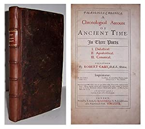Palaeologia chronica. A chronological account of ancient time. In three parts. I. Didactical. II. ...