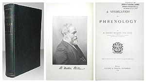 A Vindication of phrenology.: WILLIAMS, W. Mattieu