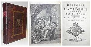 Histoire de l' Academie Royale des Sciences. Annee M. DCCXXI. Avec le memoires de mathematique...