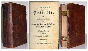 Postille, eller aandrige Forklaringer over de aarlige Son - og Helligdages evangeliske Texter. samt...