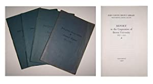 John Carter Brown Library report to the corporation of Brown University. tion of Brown University.:...
