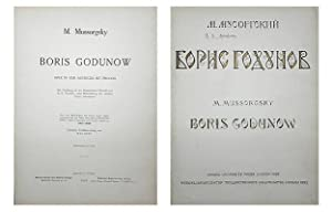 Boris Godunow. Oper in vier Aufzügen mit Prolog. Die Handlung ist der dramatischen Chronik von...