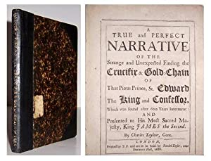 A True and perfect narrative of the strange and unexpected finding the crucifix and gold-chain of ...