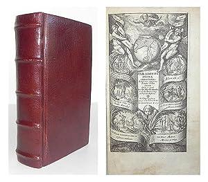 Paradisus animae Christianae, lectissimis omnigenae pietatis deliciis amoenus.: HORSTIUS, Jacob ...