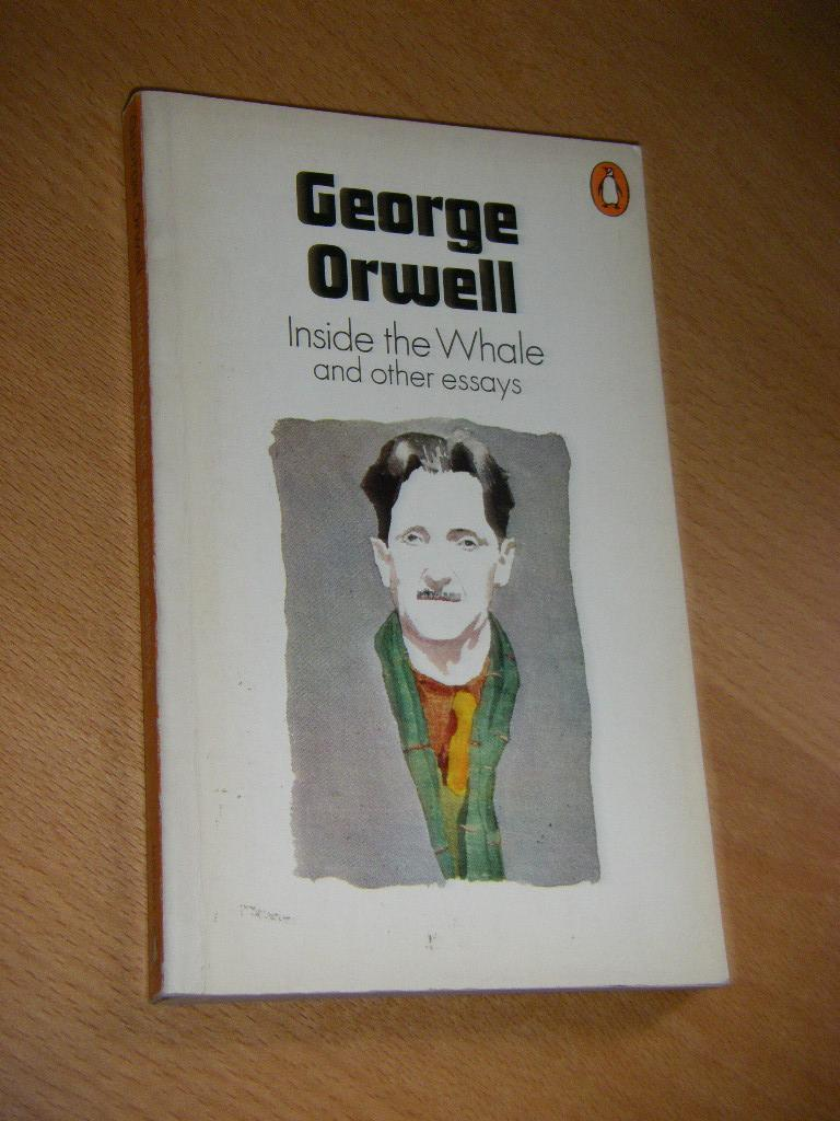 inside the whale and other essays by george orwell abebooks