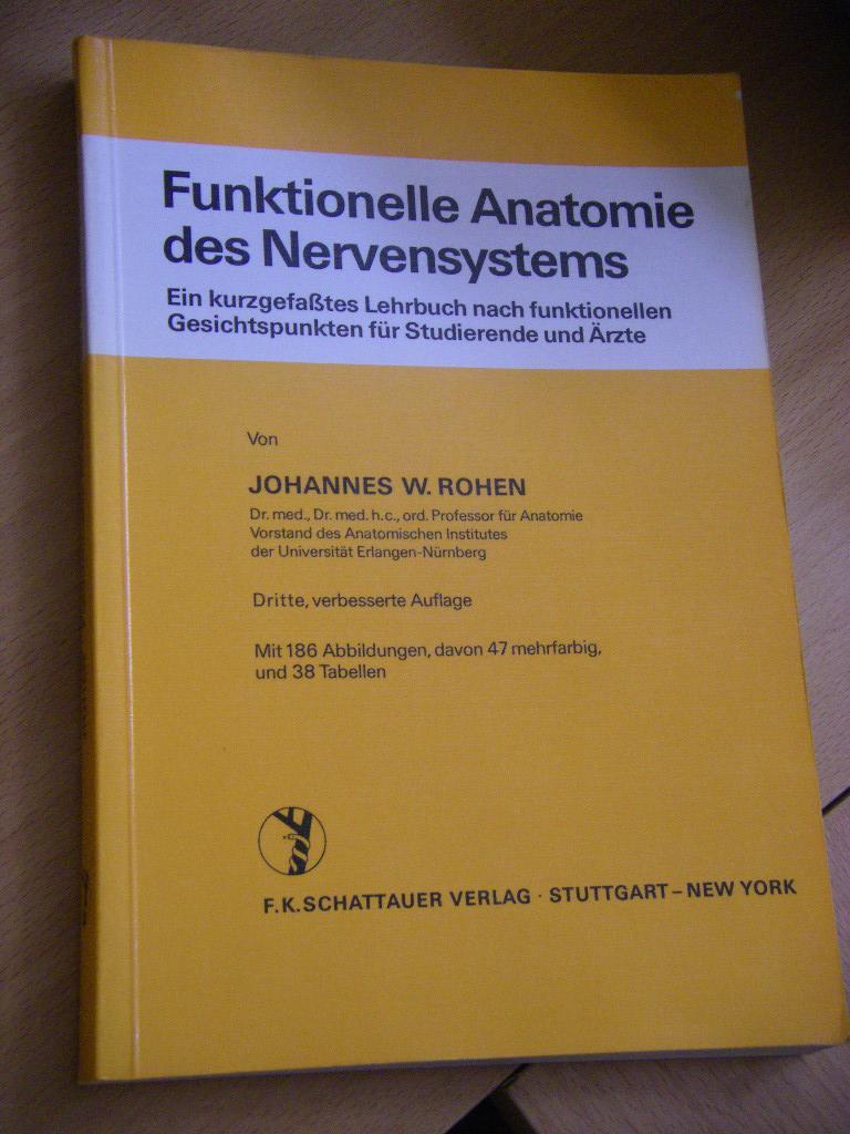funktionelle anatomie des nervensystems - ZVAB