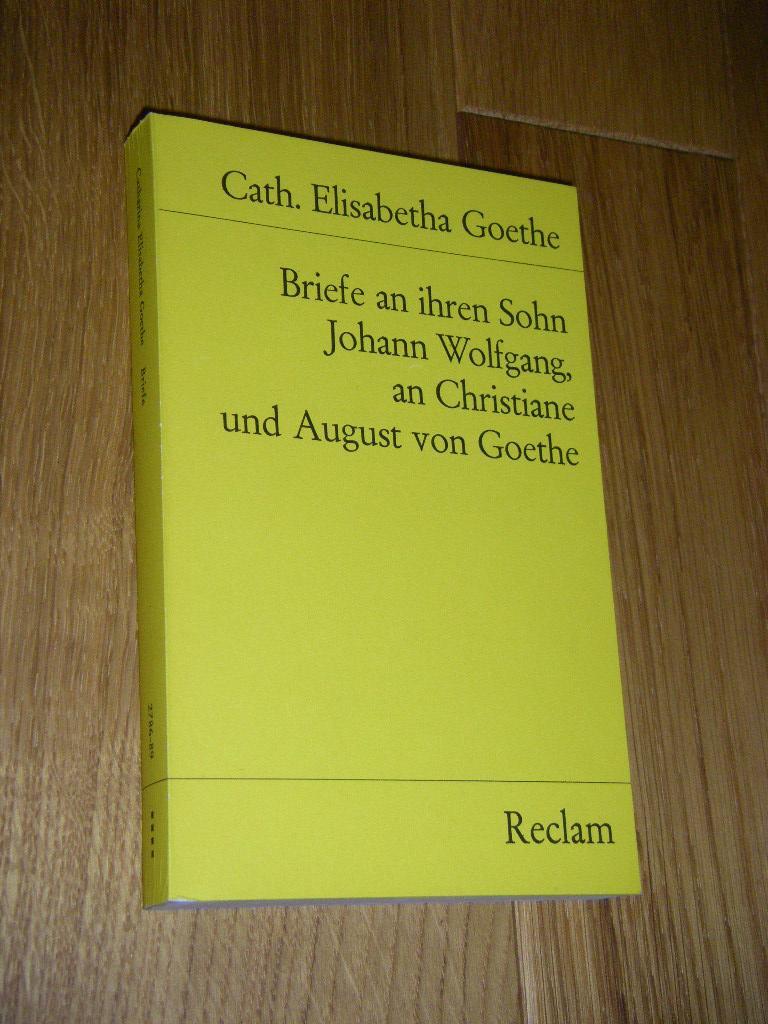 Briefe Von Schiller An Goethe : Briefe johann wolfgang von goethe zvab