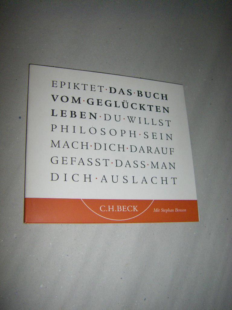 Das Buch vom glücklichen Leben (CD): Epiktet