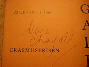 Oskar Kokoschka - Marc Chagall. Erasmusprisen (Udstellingen