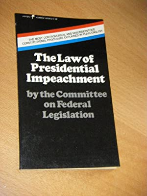The law of presidential impeachment
