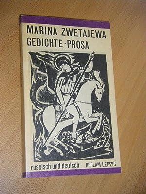 Gedichte Prosa Von Zwetajewa Marina Reclam