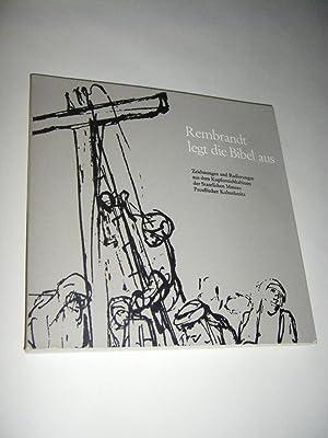 Rembrandt legt die Bibel aus. Zeichnungen und: Helbich, Hans-Martin (Hg.)