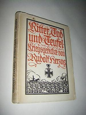 Ritter, Tod und Teufel. Kriegsgedichte: Herzog, Rudolf