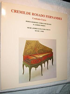 Portugiesische Cembalomusik des 18. Jahrhunderts/Musica Portuguesa para: Rosado Fernandes, Cremilde