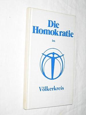 Die Homokratie im Völkerkreis: Schack, Günther