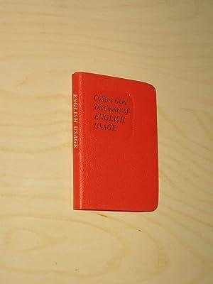 Collins Gem Dictionary of English Usage: Butt, Margot/Hons, B.