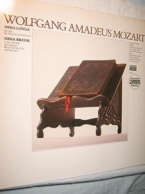 Missa Longa KV 262 für Soli, Chor: Mozart, Wolfgang Amadeus/RIAS-Kammerchor/RIAS-Sinfonietta/Uwe