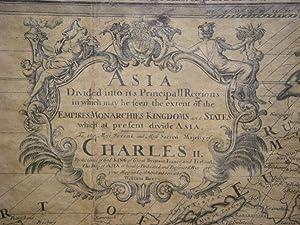 Asia Distinguished in its Principall Parts uiz: Sanson, (Nicolas)/Berry, William