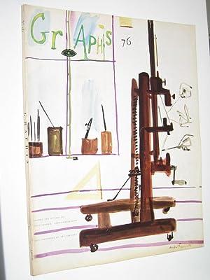 Graphis. No. 76. March/April 1958. Vol. 14.: Amstutz, Walter/Herdeg, Walter