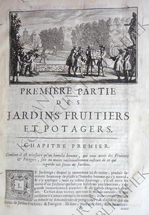 Instructions pour les jardins fruitiers et potagers,: QUINTINYE, Jean de